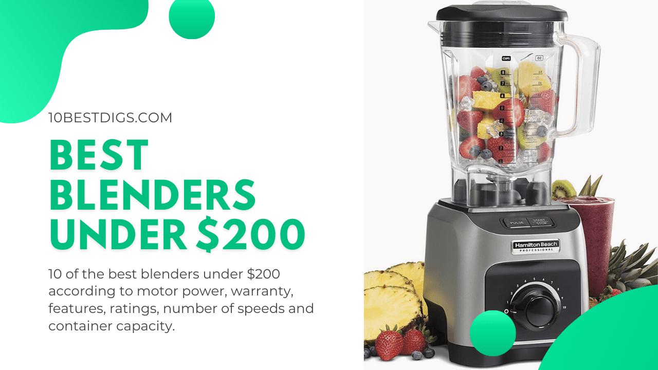 Best blenders under 200$